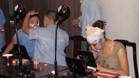Peking Opera schminken